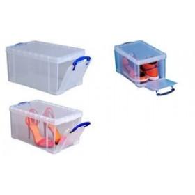 Boîte de rangement 14 litres incolore - Really Useful Box   Boîtes avec Couvercle