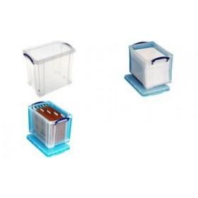 Boîte de rangement 19 Litres incolore - Really Useful Box   Boîtes avec Couvercle