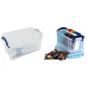 Boîte de rangement 2,1 Litres incolore - Really Useful Box   Boîtes avec Couvercle