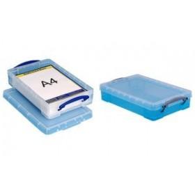 Boîte de rangement 4 Litres bleu - Really Useful Box   Boîtes avec Couvercle