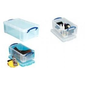 Boîte de rangement 5 litres incolore - Really Useful Box   Boîtes avec Couvercle