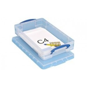 Boîte de rangement 6 litres incolore - Really Useful Box   Boîtes avec Couvercle
