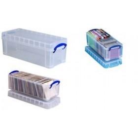 Boîte de rangement 6,5 litres incolore - Really Useful Box   Boîtes avec Couvercle
