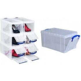 Boîte de rangement 8 litres incolore - Really Useful Box   Boîtes avec Couvercle