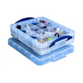 Boîte de rangement avec casier 11 litres - Really Useful Box - Casiers de Rangement