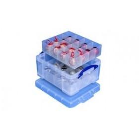 Boîte de rangement avec casiers, 21 litres