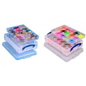 Boîte de rangement avec casiers, 4 Litres