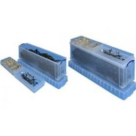 Boîte de rangement avec casiers 77 Litres - Really Useful Box - Casiers de Rangement