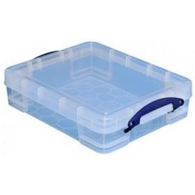 Boîte de rangement 11 litres incolore - Really Useful Box   Boîtes avec Couvercle