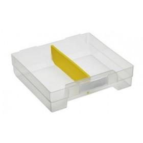 Séparateur pour tiroir VarioPlus Extra E3 jaune - Allit - Casiers pour Boîtes