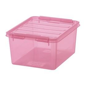 Boîte de rangement COLOUR 2, 2 litres, rose