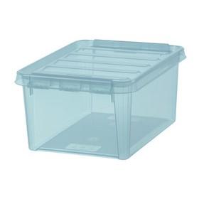 Boîte de rangement COLOUR 10 Bleue 8 Litres - Smartstore - Smarstore   Boîtes avec Couvercle