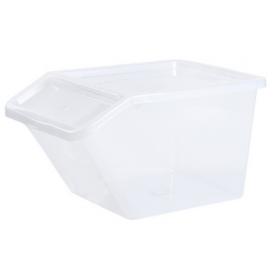 Bac de rangement BASIC BOX SLANTED 40 litres - Plast Team   Bacs de Rangement