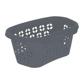 Corbeille à linge anton eco 100% recyclé gris - Keeeper | Corbeilles de Rangement