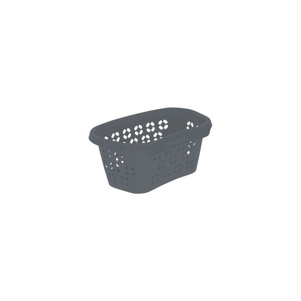 Corbeille à linge anton eco 100% recyclé gris - Keeeper   Corbeilles de Rangement