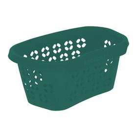 Corbeille à linge anton eco 100% recyclé vert - Keeeper | Corbeilles de Rangement