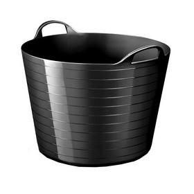Panier de rangement strata souple 40 litres noir - Cep | Corbeilles de Rangement