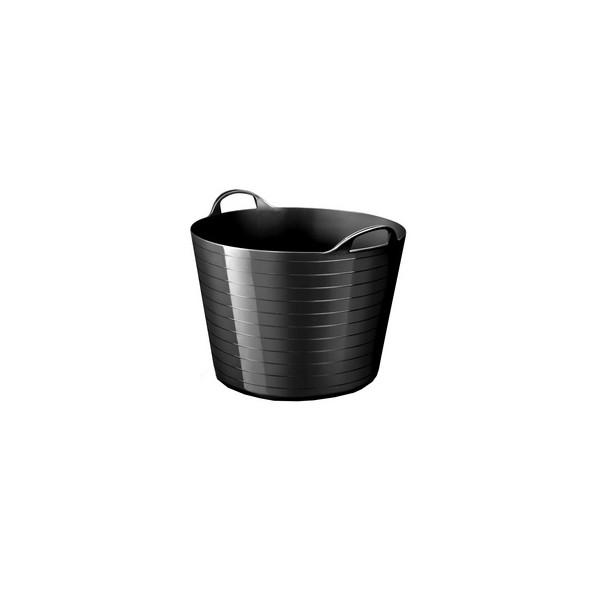 Panier de rangement strata souple 40 litres noir - Cep   Corbeilles de Rangement