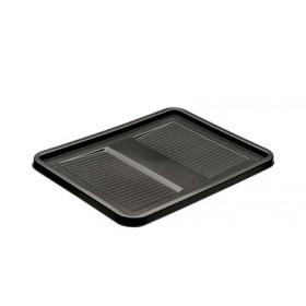 Couvercle Graphite roberta (L)400 x (P)300 mm pour caisse de rangement robert - Keeeper | Couvercles pour Boîtes