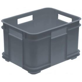 Caisse de rangement Euro-Box XXL bruno 100% recyclé gris - Keeeper | Caisses de Rangement