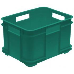 Caisse de rangement Euro-Box XXL bruno 100% recyclé vert - Keeeper | Caisses de Rangement