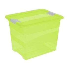 Boîte de rangement jouet  cornelia 24 litres freshgreen - Keeeper | Boîtes avec Couvercle