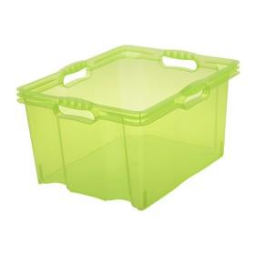 Boîte de rangement franz 24 litres vert - Keeeper | Boîtes en Plastique