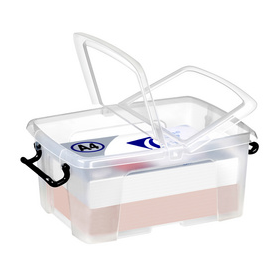 Boîte de rangement strata 24 l couvercle papillon transparent - Cep - Boîtes avec Couvercle