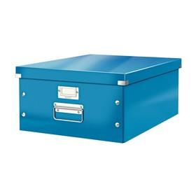 Boîte de rangement en Carton Click & Store WOW A3 bleu - Leitz | Boîtes de Rangement Carton