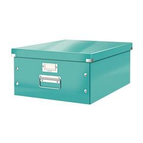 Boîte de rangement en Carton Click & Store WOW A3 menthe - Leitz | Boîtes de Rangement Carton