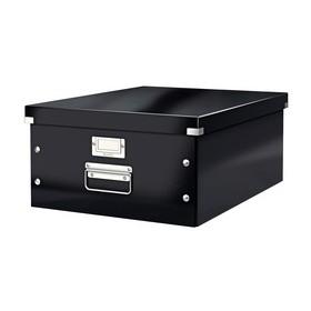 Boîte de rangement en Carton Click & Store WOW A3 noir - Leitz | Boîtes de Rangement Carton