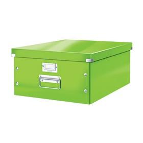 Boîte de rangement en Carton Click & Store WOW A3 vert - Leitz | Boîtes de Rangement Carton
