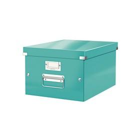 Boîte de rangement en Carton Click & Store WOW A4 menthe - Leitz - Boîtes de Rangement Carton
