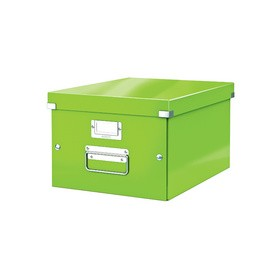 Boîte de rangement en Carton Click & Store WOW A4 vert - Leitz | Boîtes de Rangement Carton