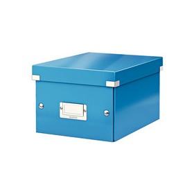 Boîte de rangement en Carton Click & Store WOW A5 bleu - Leitz - Boîtes de Rangement Carton