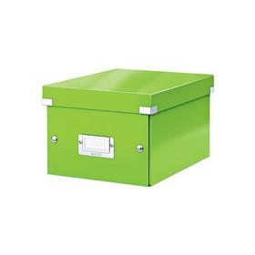 Boîte de rangement en Carton Click & Store WOW A5 vert - Leitz - Boîtes de Rangement Carton