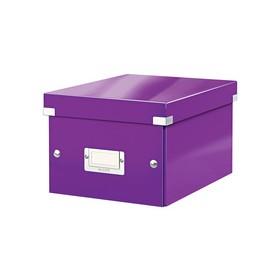 Boîte de rangement en Carton Click & Store WOW A5 violet - Leitz | Boîtes de Rangement Carton