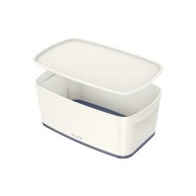 Boîte de rangement My Box 5 litres blanc / gris - Leitz | Boîtes avec Couvercle