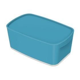 Boîte de rangement My Box Cosy 5 litres bleu - Leitz   Boîtes avec Couvercle