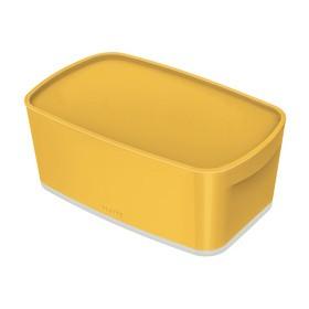 Boîte de rangement My Box Cosy 5 litres jaune - Leitz   Boîtes avec Couvercle