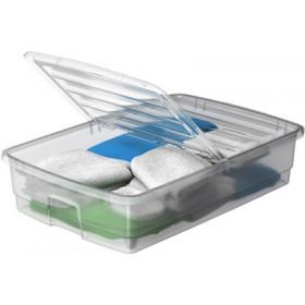 Boîte de rangement BETTROLLER transparent - Smarstore - Boîtes avec Couvercle