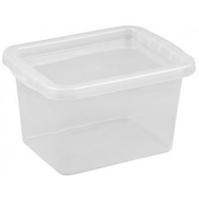Boîte de rangement BASIC BOX 9,0 litres - Plast Team   Boîtes avec Couvercle