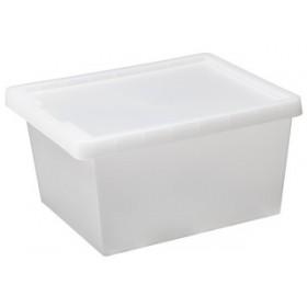 Boîte de rangement TAG STORE 21,0 litres - Plast Team   Boîtes avec Couvercle