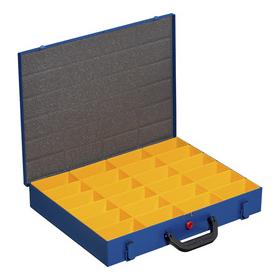 Mallette en métal pour petites pièces EuroPlus Pro M 44H-24 - Allit | Boîtes d'assortiment