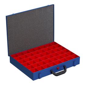 Mallette en métal pour petites pièces EuroPlus Pro M 44H-48 - Allit | Boîtes d'assortiment