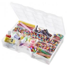Boîte de rangement ORGANIZER 38 5 litres transparente - Smarstore - Boîtes d'assortiment