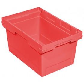 Bac  de rangement F400 Ship 323 en PP rouge - 58 litres - Allit   Bacs de Rangement