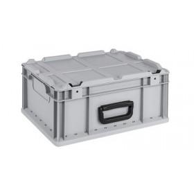 Bac de rangement Professionnel ProfiPlus Euro Carry 417 gris - Allit   Bacs de Rangement