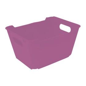 Bac de rangement lotta 1,8 litres lilas - Keeeper | Bacs de Rangement