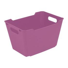 Bac de rangement lotta 12 litres lilas - Keeeper | Bacs de Rangement